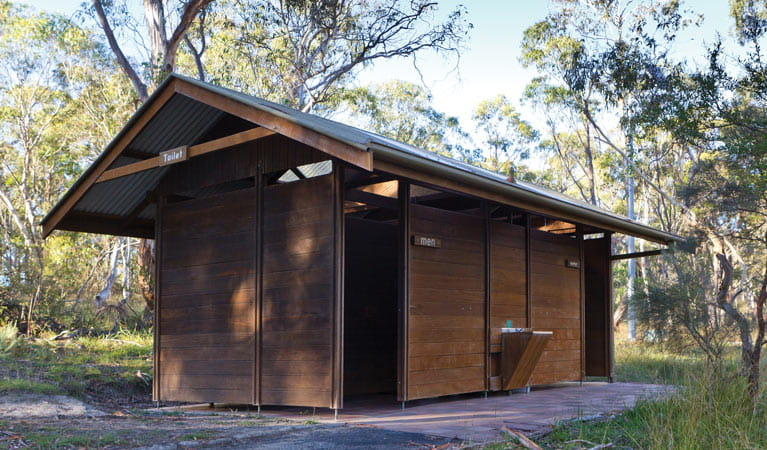 Facilities, Apsley Falls campground. Photo: Rob Cleary