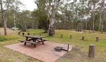 Riverside campground and picnic area, Oxley Wild Rivers National Park. Photo: Rob Cleary