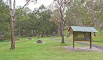 Threlfall pinic area entrance, Oxley Wild Rivers National Park. Photo: Rob Cleary