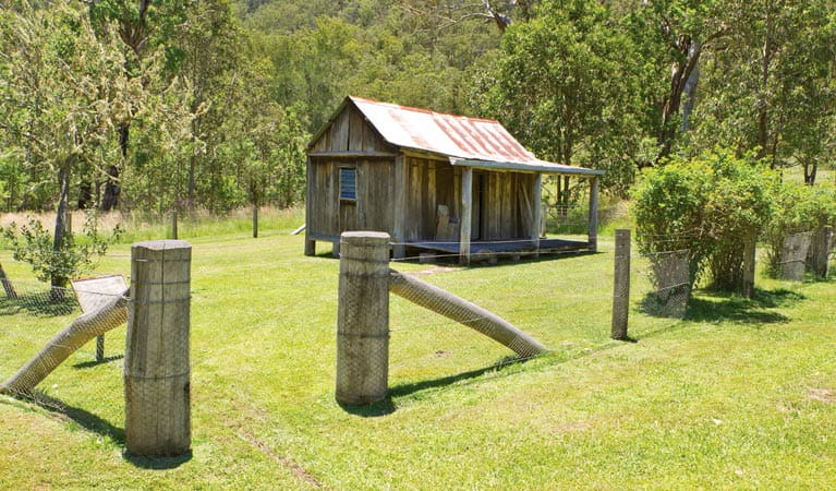 Youdales Hut, Oxley Wild Rivers National Park. Photo: Rob Cleary/DPIE