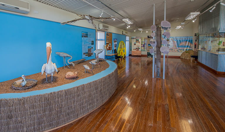 Paroo-Darling Visitor Centre, White Cliffs, Paroo-Darling National Park. Photo: John Spencer