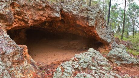 Sandstone Caves, Pilliga National Park. Photo: Rob Cleary