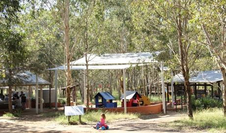 Rouse Hill picnic area and playground, Rouse Hill Regional Park. Photo: John Yurasek