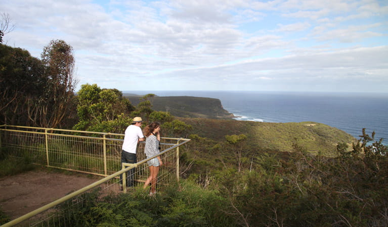 Governor Game lookout, Royal National Park. Photo: Andy Richards/NSW Government