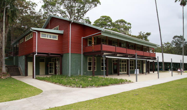Exterior of Royal National Park Visitor Centre, Royal National Park. Photo: Andy Richards