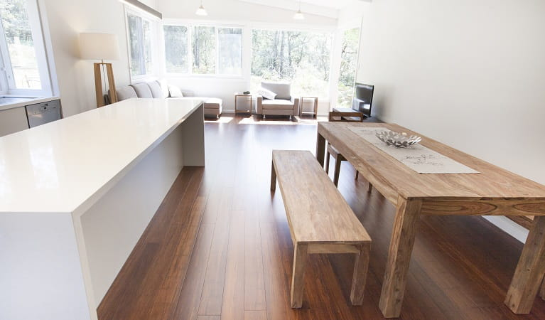 Reids Flat Cottage living and dining room. Photo: Rosie Nicolai/OEH