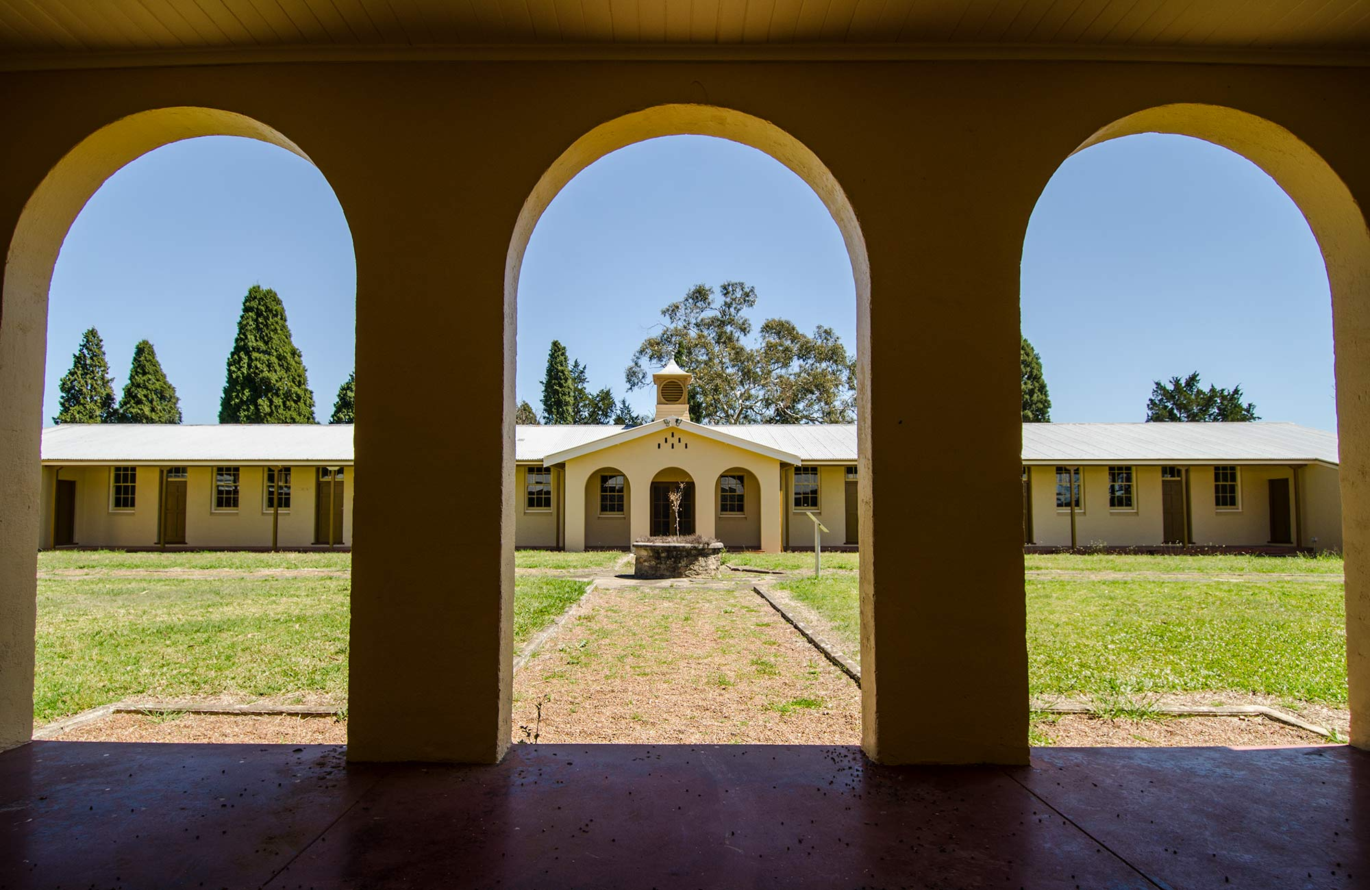 Restored Heritage Building, Scheyville National Park. Photo: John Spencer