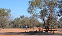Fort Grey campground, Sturt National Park. Photo: Dinitee Haskard OEH