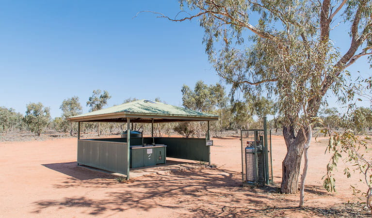 Fort Grey Campground, Sturt National Park. Photo: John Spencer