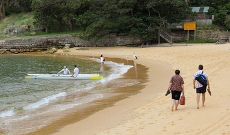 Camp Cove, Sydney Harbour National Park. Photo: John Yurasek