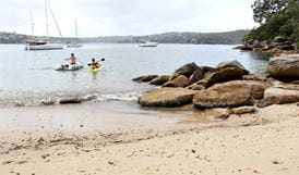 Cobblers Beach, Sydney Harbour National Park. Photo: John Yurasek