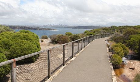 Fairfax walk, Sydney Harbour National Park. Photo: John Yurasek