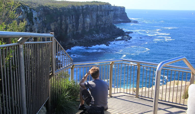 Views from Fairfax walk, Sydney Harbour National Park. Photo: Natasha Webb/OEH