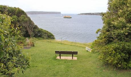 Georges Head, Sydney Harbour National Park. Photo: John Yurasek/NSW Government