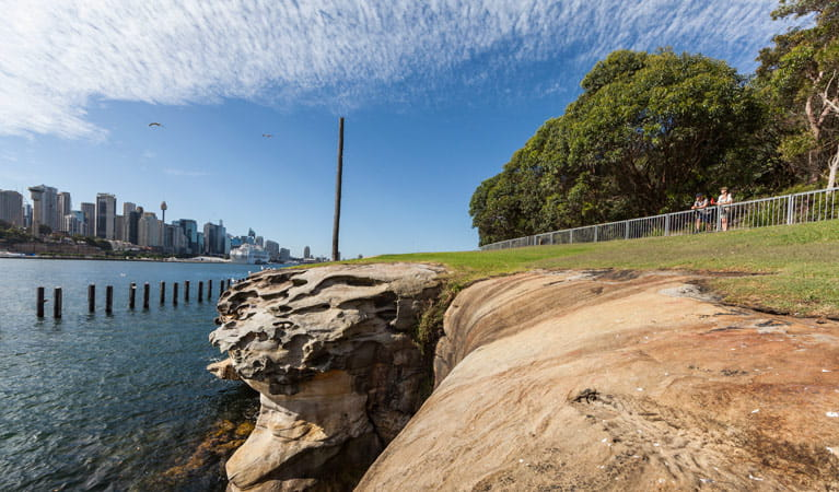 Goat Island, Sydney Harbour National Park. Photo: David Finnegan/NSW Government