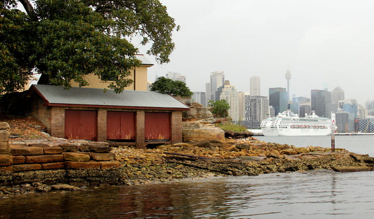 Goat Island, Sydney Harbour National Park. Photo: John Yurasek