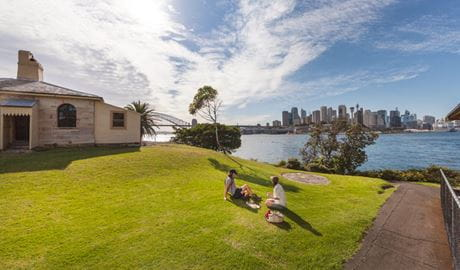 Goat Island, Sydney Harbour National Park. Photo: David Finnegan