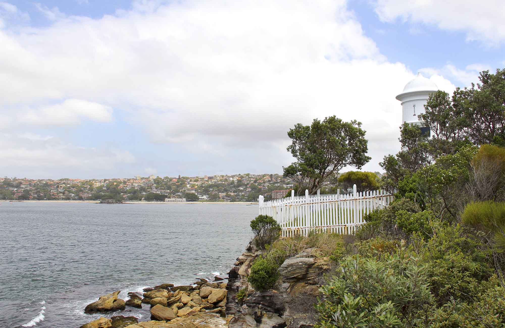Grotto Point Lighthouse, Sydney Harbour National Park. Photo: John Yurasek/NSW Government