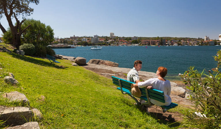 Manly scenic walkway, Sydney Harbour National Park. Photo: David Finnegan/NSW Government