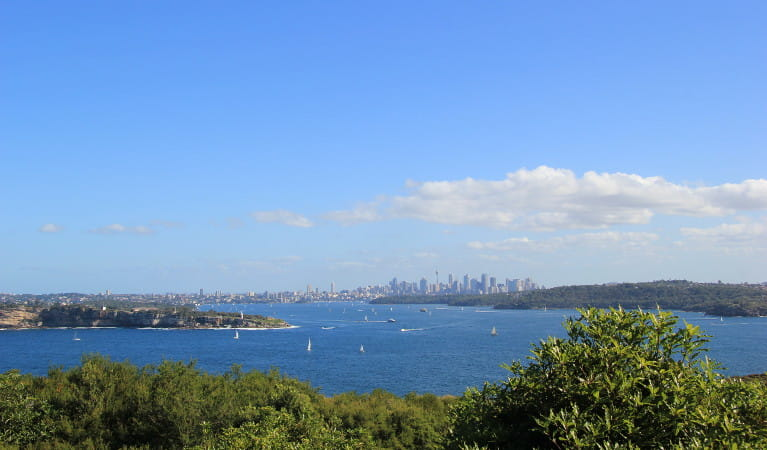 Views from North Head, Sydney Harbour National Park. Photo: Natasha Webb/OEH
