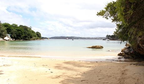 Collins Flat Beach, Sydney Harbour National Park. Photo: John Yurasek/NSW Government