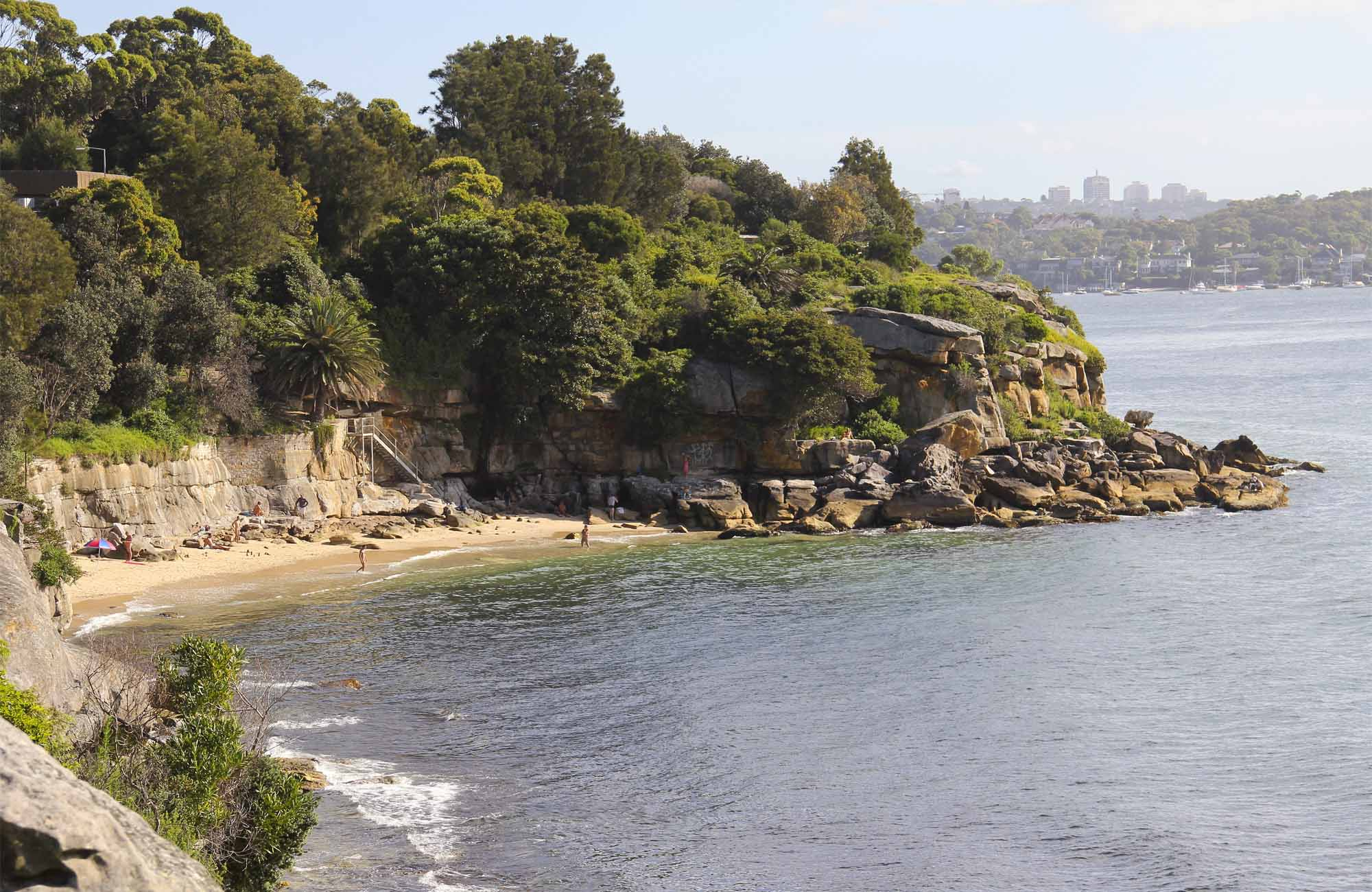 Lady Bay Beach, Sydney Harbour National Park. Photo: John Yurasek/NSW Government