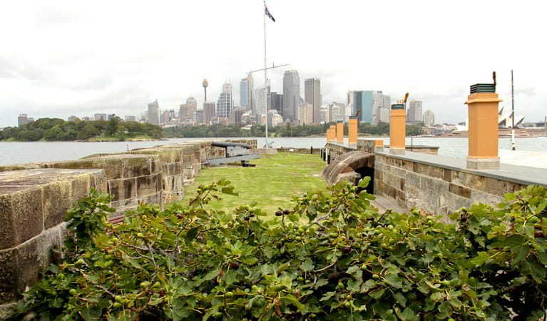 Fort Denison, Sydney Harbour National Park. Photo: John Yurasek/NSW Government