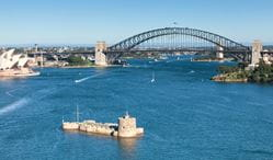 Fort Denison, Sydney Harbour National Park. Photo: David Finnegan/NSW Government