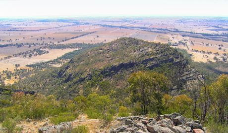 The Rock lookout, The Rock Nature Reserve. Photo: Colin Killick