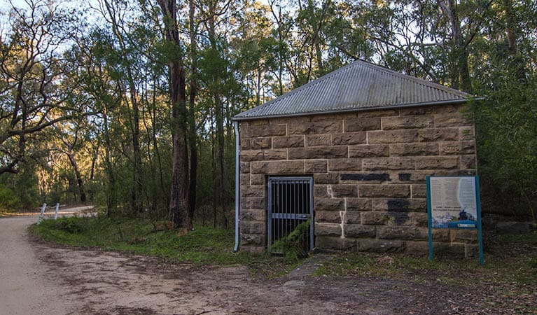 Heritage Pump Station building, Thirlmere Lakes National Park. Photo: John Spencer