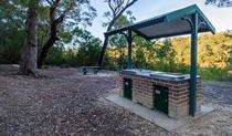 Werri Berri picnic area barbecue, Thirlmere Lakes National Park. Photo: John Spencer