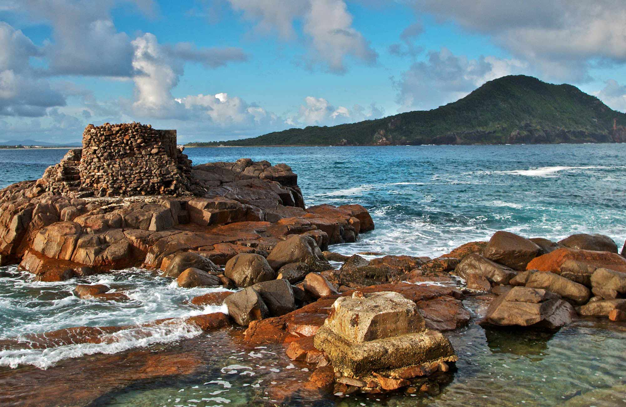 Fort Tomaree, Tomaree National Park. Photo: John Spencer