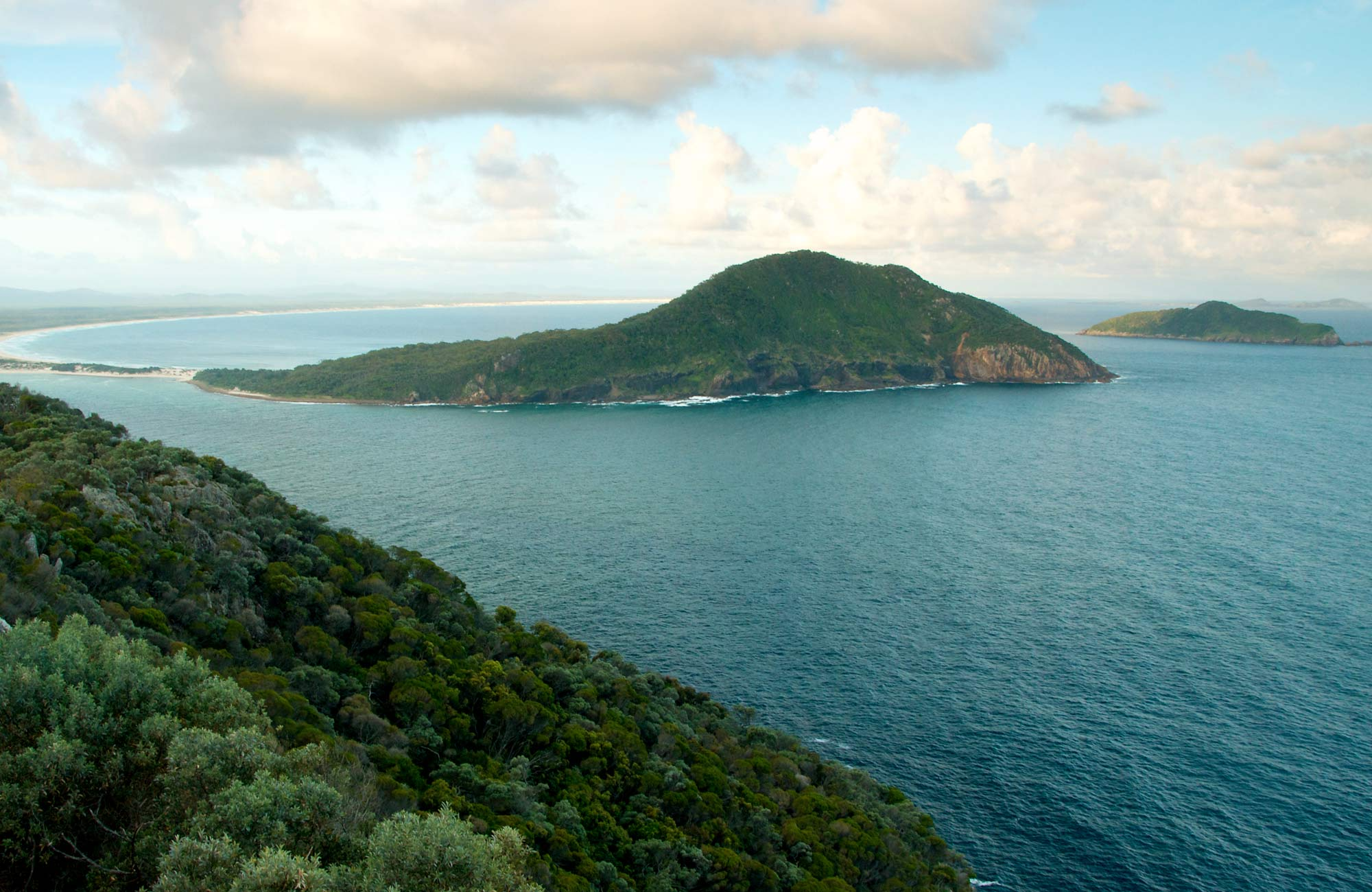 Tomaree Head Summit Walk, Tomaree National Park. Photo: John Spencer