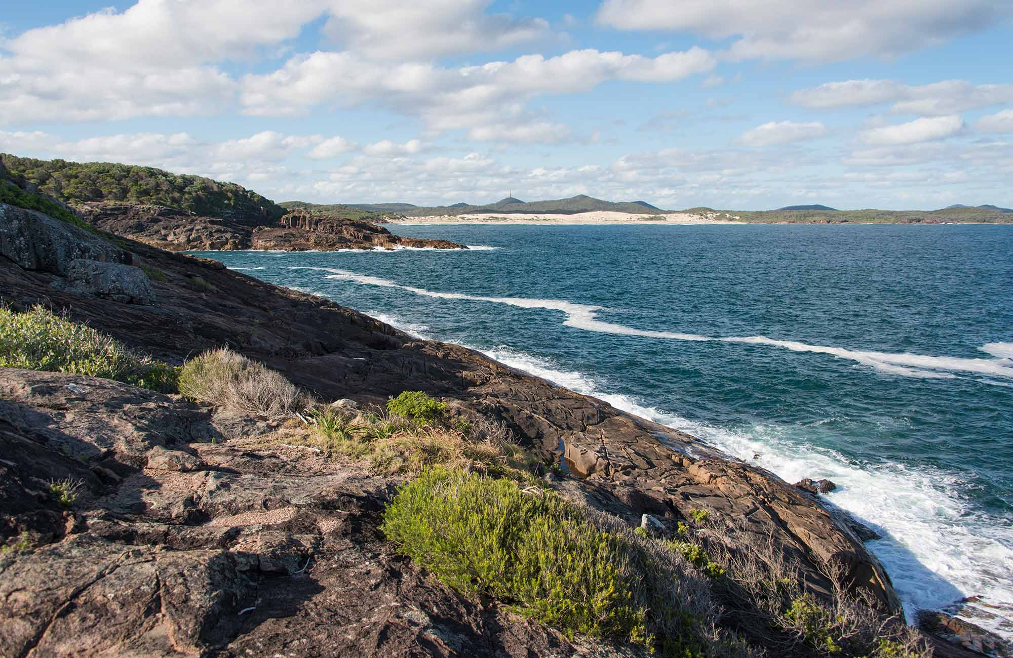 Morna Point walk, Tomaree National Park. Photo: John Spencer