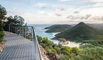 Coastal view from Tomaree Head summit walk. Photo: John Spencer/OEH