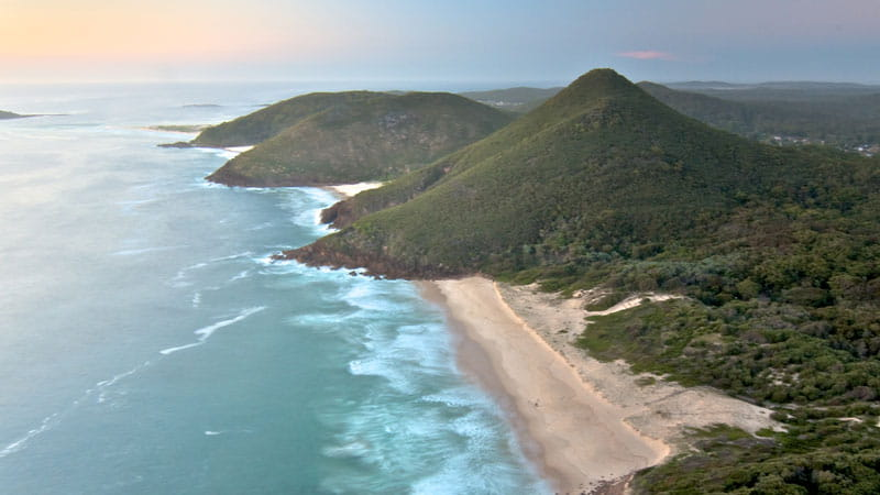 Tomaree Head, Tomaree National Park. Photo: John Spencer/OEH