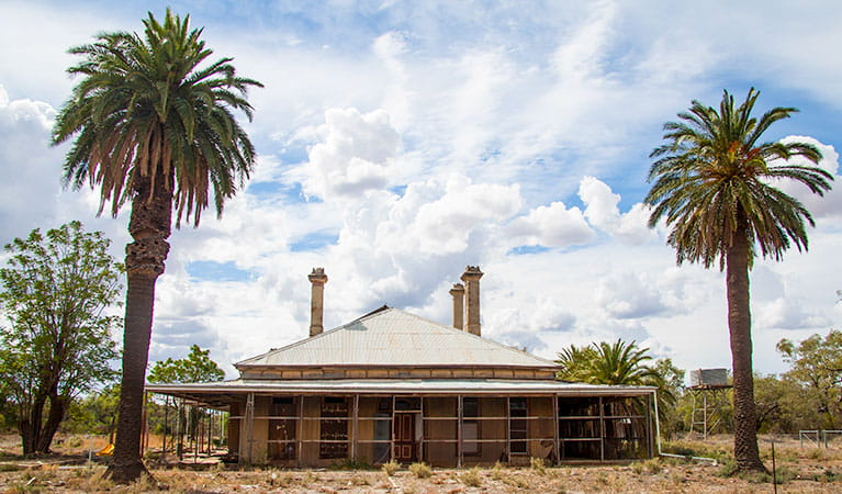 Toorale Homestead precinct, Toorale National Park and State Conservation Area. Photo: Gregory Anderson