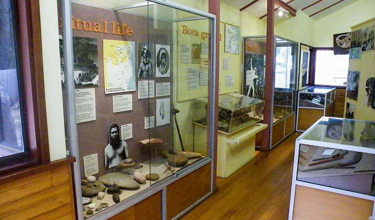Tweed Head Historical Site, Minjungbal Aboriginal Cultural Centre. Photo: NSW Government