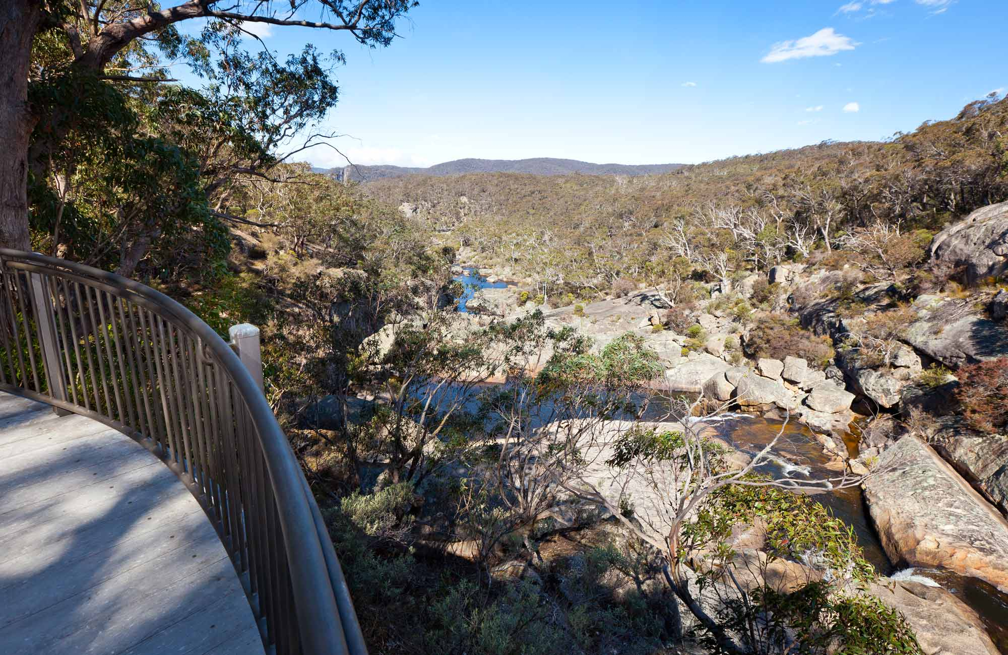 Cascades Viewing Platform, Wadbilliga National Park. Photo: Lucas Boyd Photography/NSW Government