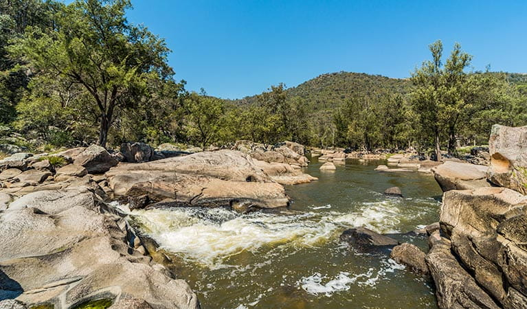 Rapids, Warrabah National Park. Photo: David Young