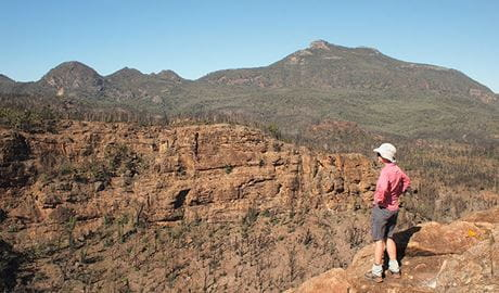 Belougery Split Rock walking track, Warrumbungle National Park. Photo: Sue Brookhouse