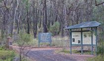 Signs at Pincham carpark, Warrumbungle National Park. Photo: Robert Cleary/DPIE