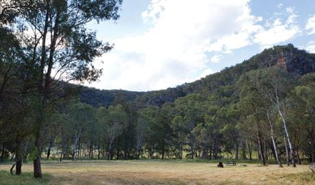 Camp Waalay, Warrumbungle National Park. Photo: Rob Cleary/DPIE
