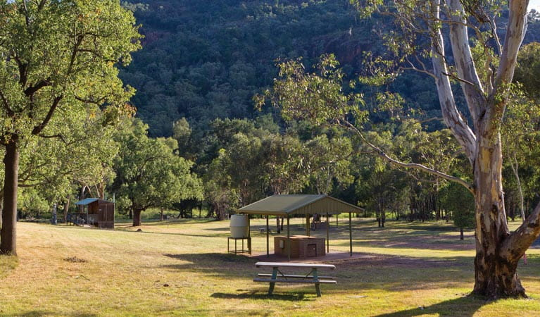 Canyon picnic area, Warrumbungles National Park. Photo: Rob Cleary.