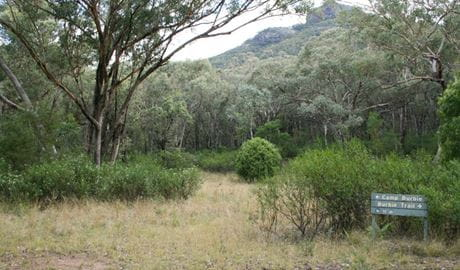 Burbie Camp, Warrumbungle National Park. Photo: OEH