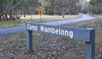 Camp Wambelong, Warrumbungle National Park. Photo: Rob Cleary/DPIE
