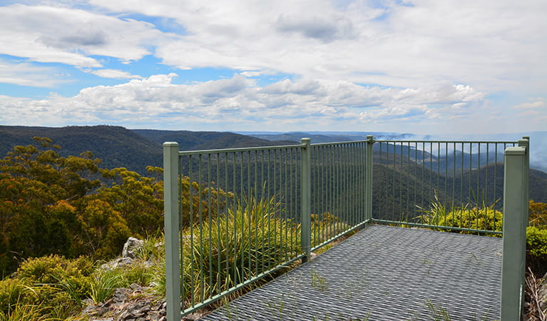 Billyrimba lookout, Washpool National Park. Photo: Ann Richards/DPIE