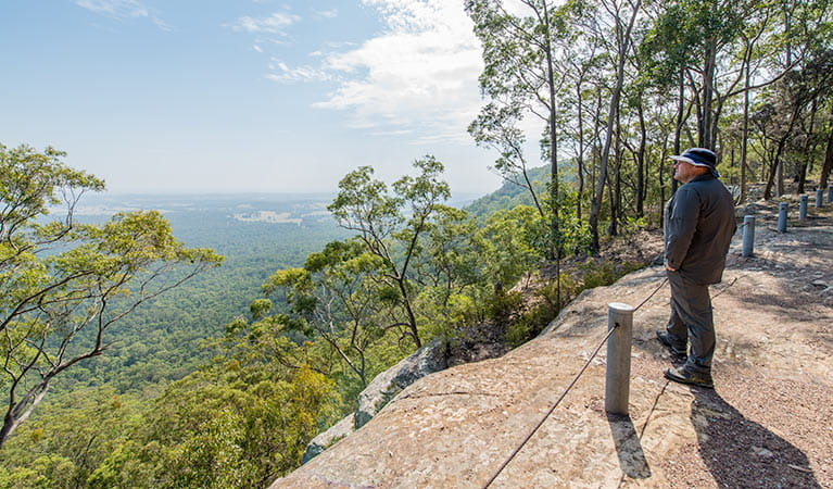 The Narrow Place lookout, Watagans National Park. Photo: John Spencer