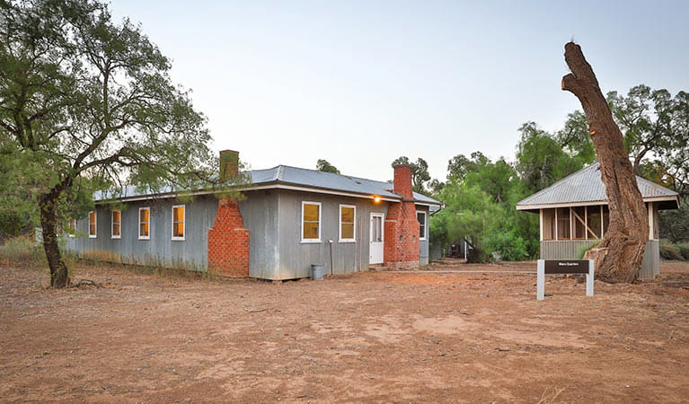 Willandra Cottage, Willandra National Park. Photo: Boris Hlavica