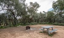 Willandra campground, Willandra National Park. Photo: John Spencer